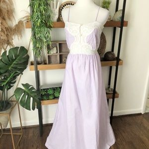 Lily of France vintage purple nightgown